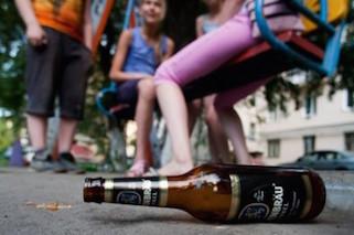 Распитие спиртных напитков в общественных местах2